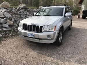 SUV Crossover Jeep Grand Cherokee Loaded Overland Diesel