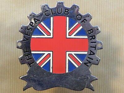Vespa Club of Britain Badge
