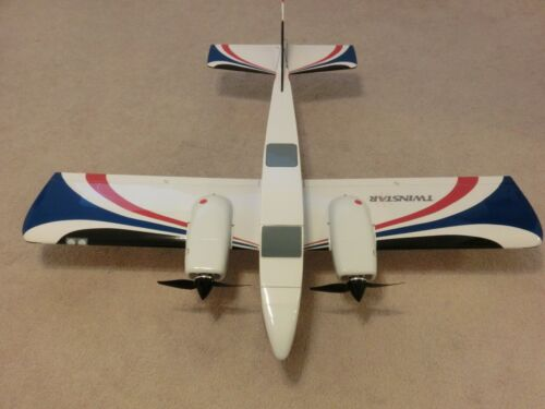 VINTAGE GREAT PLANES TWIN STAR EP ARF AIRPLANE PNP RC AIRPLANES 70 MPH