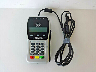 First Data Fd-35 Point Of Sale Credit Card Chip Reader Terminal W Usb Cable