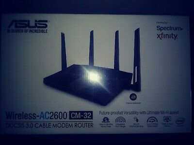 Asus Modem Router Combo - All-in-one DOCSIS 3.0 32x8 Cable Modem + Dual-Band Wir