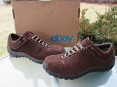 Columbia Turku Brown Suede Lace-Up Trail Hiking Sneakers Mens size 10