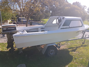 Savage 14ft half cabin boat Melville Melville Area Preview