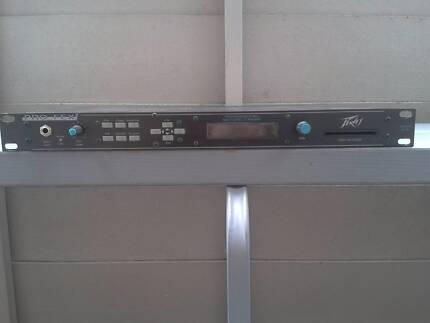 PEAVEY PRO FEX II  MULTI FX EFFECTS PROCESSOR PREAMP 1RU 240V