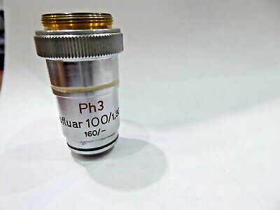 Carl Zeiss Neofluar Ph3 100 1.30 160 Oel Ph3 Objective 14139m
