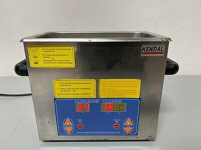 Kendal Hb-s-23hdt Heating Ultrasonic Cleaner 3 Liters