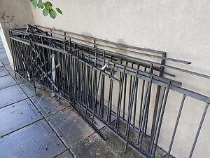 Clôture en fer 40pieds au total / Steel fence