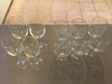 Set of 10 Wine glass Hornsby Hornsby Area Preview