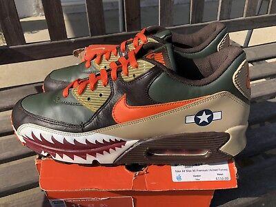 8b56510037 Nike Air Max 90 Premium Warhawk Armed Forces Patta Atmos 315728-381 Sz 11