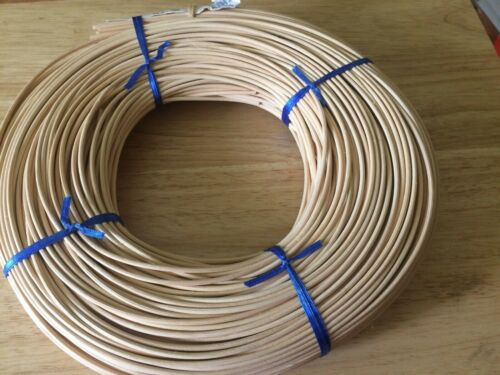 1 Round Reed #4 2.75 mm 1 lb Coil for Weaving Bound Unused Basket, Chair, Caning