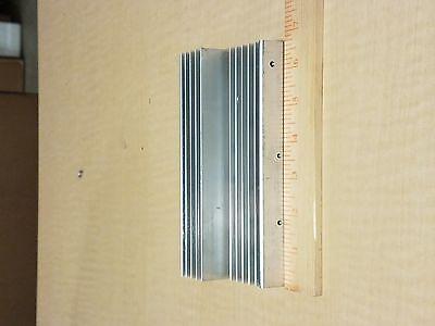 165 X 100 X 5030mm Aluminum Heat Sink High Power Transistor