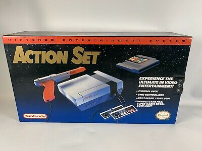 Nintendo Entertainment System Action Set Console NES System Brand NEW w Box MINT