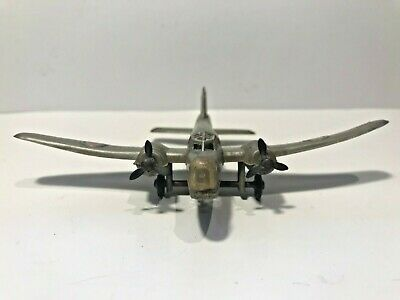 ✈️ Vintage 1950s PALITOY ALLIED WELLINGTON BOMBER WW2 Aircraft Model Toy Silver