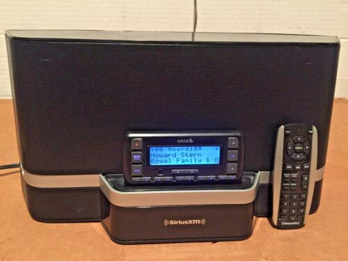 SiriusXM SXABB2 Portable Satellite Radio Speaker Dock & Stratus 6 LIFETIME SUB