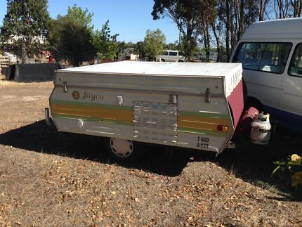 Camper Trailer Jayco Dove Wind Up Kilmore Mitchell Area Preview