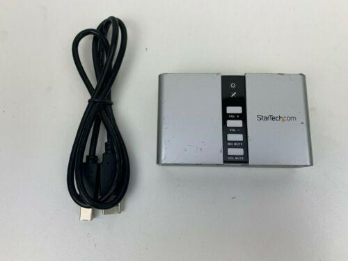 StarTech | ICUSBAUDIO7D | 7.1 USB Audio Adapter External Sound Card with SPDIF