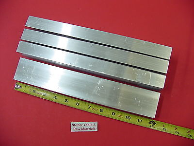 4 Pieces 1x 2x 18 Wall Aluminum Rectangle Tube 6063 T52 X 12 Long .125 W
