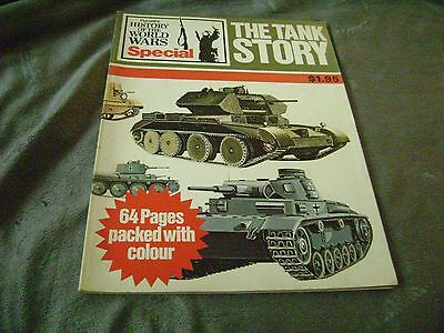 1- 1972 magazine THE TANK STORY, 65 pages. (64 pages in color).