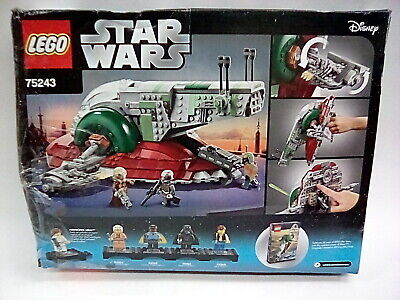 LEGO Star Wars Slave l 20th Anniversary Edition 75243 Building Kit *1 Bag Open*