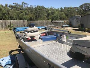 Boat 3.7 Stacer aluminium