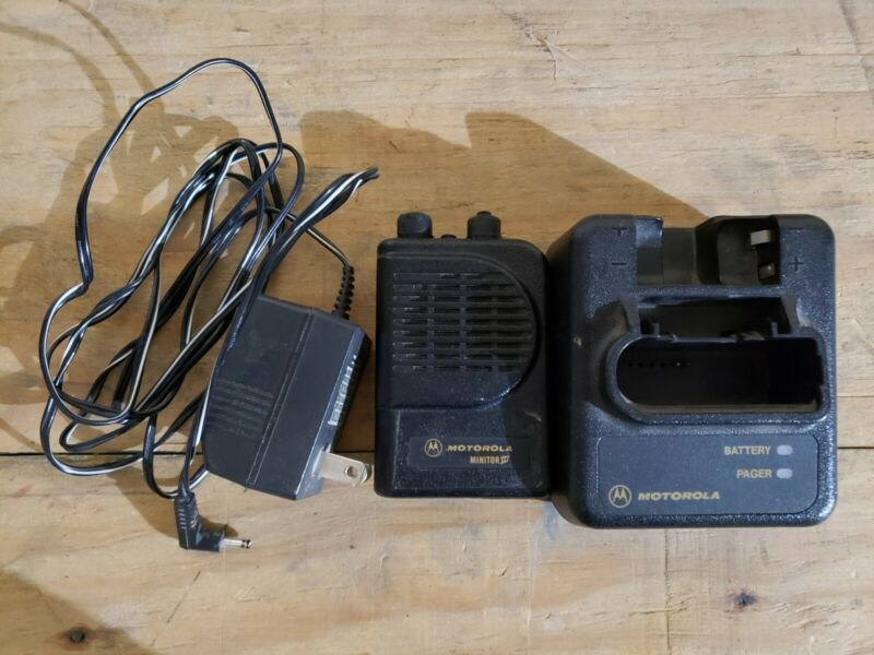 Motorola Minitor III (3) VHF Stored Voice Pager 151-159 MHz w/FREE Programming