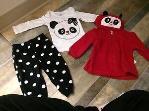 Baby girl items (6-12/12/9m)