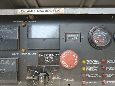 Detroit Diesel Spectrum 200 Kw Standby Genset Generator
