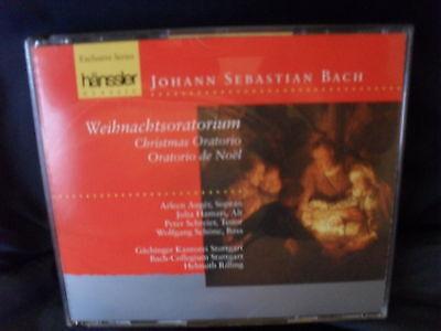 Johann S. Bach – Weihnachtsoratorium  --Helmuth Rilling / Gächinger Kantorei Stu