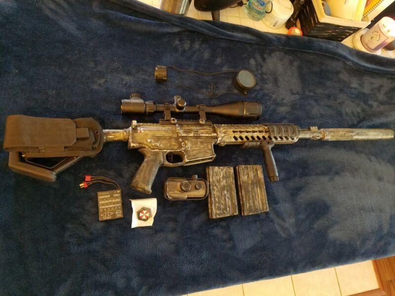 Custom Classic army M110 Dmr Airsoft,titan mosfet, maxx model, AEG, Lipo ready.