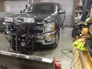 Chev 2500 HD crew cab 4x4 with plow