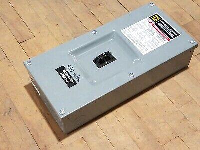 Square D FA100S 100A Enclosed Circuit Breaker Interruptor FAL34040 40A 3P 480V segunda mano  Embacar hacia Mexico