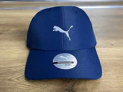 Puma Pounce Adjustable Golf Cap Hat Peacoat Navy Blue ( 021431 02 ) NEW!! Blue Adjustable Golf Hat