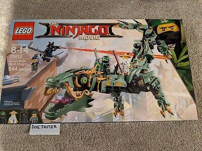LEGO Green Ninja Mech Dragon - 70612 -2017- NIB - The Lego Ninjago Movie - Lloyd