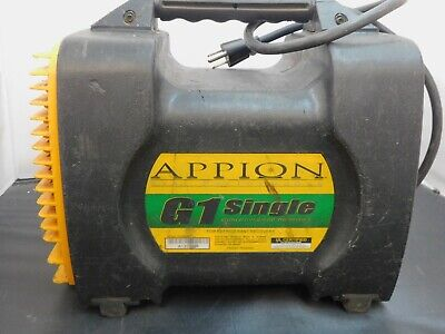 Appion G1 Single Refrigerant Recovery Machine Great Condition Single Cylinder Re