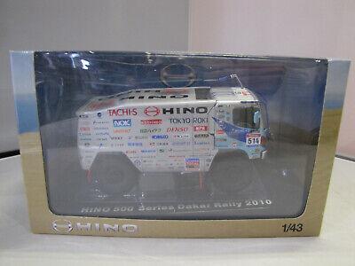 Norev 518813 Hino 500 Series Ranger Dakar 2010 Teruhito Sugawara 1:43