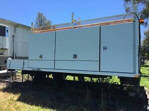 2010 Steel Traytop/Truck Service Body. Tailgate loader.Ex Govt Inverell Inverell Area Preview
