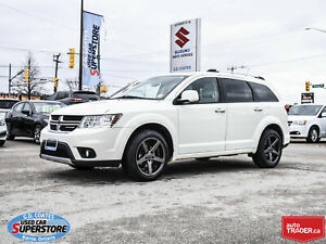 2011 Dodge Journey R/T AWD ~7 Passenger ~Nav ~DVD ~Heated Leathe