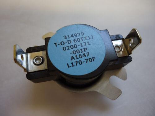 Thermodisc 60TX11 Limit Switch 314979 0200-171-001P A1647 L170-70F T-O-D