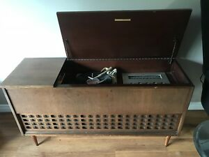 Mid century modern Delicraft record cabinet