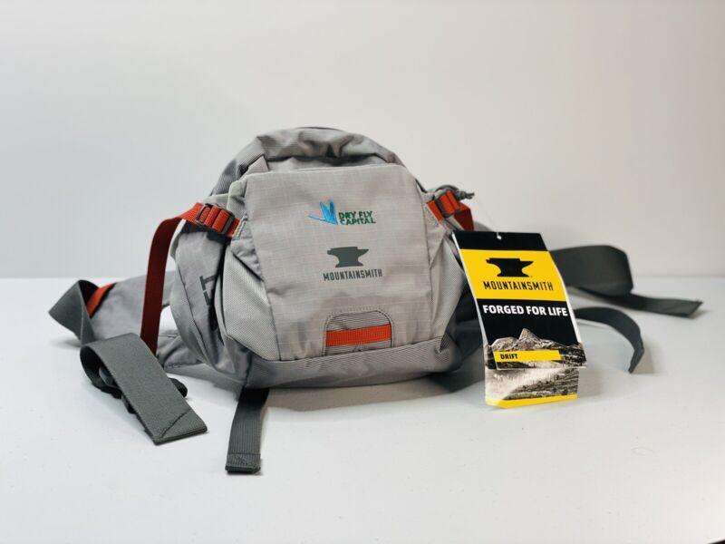 Mountainsmith Drift Adjustable Hiking Waist Pack- Gray- NWT- Dry Fly Capital