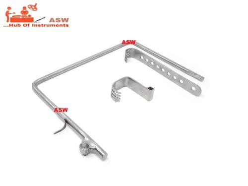 Charnley Initial Incision Hip Retractor Orthopedic Surgical Instrument
