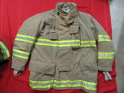 Mfg. 2012 Globe Gxtreme 52 X 35 Firefighter Turnout Bunker Jacket Fire Rescue