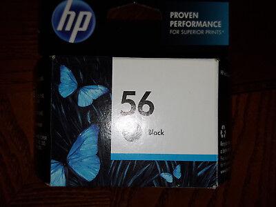 HP 56 Black Ink eco Highlights Sealed NEW