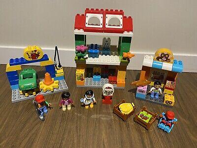 Lego Duplo Town Square Set 10836 RARE HTF Compelete