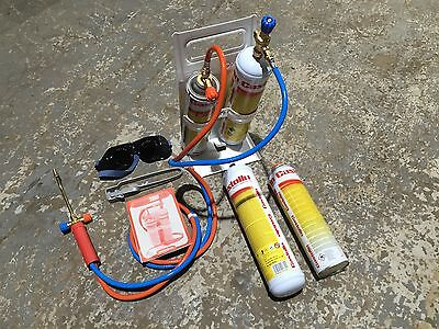 CASTOLIN PORTABLE GAS LEAD WELDING-BRAZING-PLUMBING-ROOFING-MINI PORTAPACK KIT