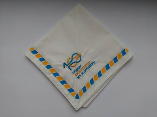 Scout scarf / neckerchief from Slovakia - 100 years anniversary scouting (2013)