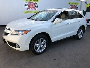 2013 Acura RDX Tech Package, Leather, Sunroof, AWD, 83,000km