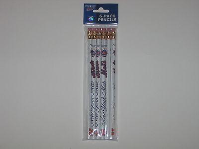 New York Mets Pencil - New York Mets 6 Pack Of Team Logo 7