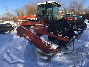 For Sale Hesston 8100 Swather Many New Updates
