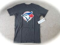M Or L Blue Jays Dk Grey Official Mlb Baseball T Shirt Strong Toronto Canada - official mlb merchandise - ebay.co.uk
